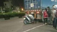 Lao vào đuôi xe container, thanh niên tử vong trong tư thế ngồi trên xe máy tại Bình Dương