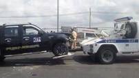 Bà Rịa - Vũng Tàu: Tài xế điều khiển xe bán tải vượt tốc độ, đâm 2 chiến sĩ cảnh sát thương vong