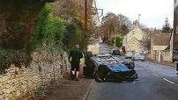 Lấy trộm Aston Martin Rapide để đi chơi rồi gây tai nạn, thanh niên 20 tuổi đổ tội cho chứng tăng động