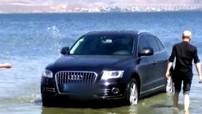 Bị phạt 7 triệu đồng vì mang SUV hạng sang Audi xuống hồ để rửa xe