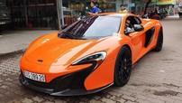 Siêu xe mui trần McLaren 650S Spider độ mâm ADV.1 bất ngờ xuất hiện tại Hà Nội