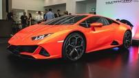 Lamborghini Huracan Evo lần đầu ra mắt giới nhà giàu tại Singapore, giá bán 17 tỷ đồng