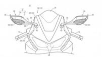 Honda trang bị cánh gió cho gương chiếu hậu Honda CBR1000RR thế hệ mới