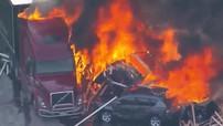 Tai nạn giao thông liên hoàn ở Mỹ của 28 chiếc ô tô khiến 4 người tử vong