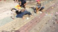 Bình Dương: Tông vào xe van đang rẽ, nam thanh niên đi Honda Winner 150 tử vong tại chỗ