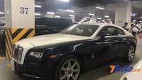 """Sau tai nạn với Honda CR-V, Rolls-Royce Wraith bị bắt gặp """"làm bạn"""" với bụi trong hầm để xe"""