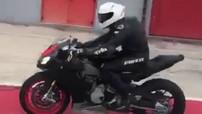 Sport bike hạng trung Aprilia RS660 lộ ảnh thực tế trên đường thử