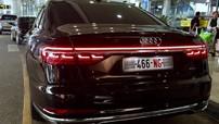 Sedan hạng sang Audi A8L thế hệ mới bất ngờ xuất hiện trên đường phố Việt Nam với biển NG