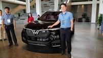 SUV công suất cao VinFast LUX SA V8 bất ngờ xuất hiện tại Việt Nam
