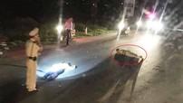 Nghệ An: Trung tá CSGT bị thương nặng sau cú tông của người đàn ông đi xe máy không đội mũ bảo hiểm