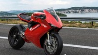 """Thiết kế xe mô tô điện Ducati Elettrico xuất hiện khiến """"fan"""" vô cùng phấn khích"""