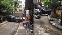 Hà Nội: Lùi xe từ trong ngõ, nữ tài xế đạp nhầm chân ga tông vào xe máy khiến 1 người tử vong