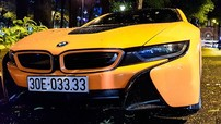 """BMW i8 biển """"tứ quý"""" 3 từng rao bán dưới 3,8 tỷ đồng được thay áo mới"""