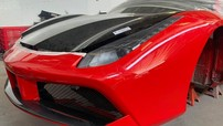 """""""Ngựa chiến"""" Ferrari 488 GTB của Tuấn Hưng sắp tái xuất sau tai nạn nghiêm trọng"""