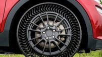 GM và Michelin thử nghiệm công nghệ lốp rỗng khí không thể bị xịt hoặc nổ
