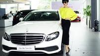 Siêu mẫu Xuân Lan tậu xe Mercedes-Benz E200 hơn 2 tỷ đồng