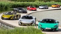 Hoa mắt trước cảnh tượng 23 siêu xe McLaren có tổng trị giá 1.475 tỷ Đồng dàn hàng để chụp ảnh