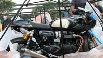 Cận cảnh đập thùng Triumph Thruxton TFC bản giới hạn trị giá hơn nửa tỷ tại Việt Nam