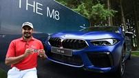 """Chứng kiến tay gôn đánh được """"hole-in-one"""" và nhận ngay một chiếc BMW M8 Competition 2020 làm phần thưởng"""