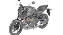 Yamaha MT-03 thế hệ mới sẽ trang bị đầu đèn giống MT-15, bổ sung phuộc USD, ABS