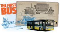 Liệu bạn có biết chiếc xe buýt đầu tiên trên thế giới đã ra đời cách đây gần 200 năm?