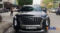 Hyundai Palisade 2020 đeo biển trắng bất ngờ xuất hiện trên phố Hà thành