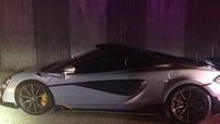 """Mới mua siêu xe McLaren 600LT bản giới hạn được 10 phút, chủ nhân phải """"giao nộp"""" xe cho cảnh sát"""