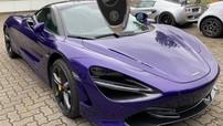 Rộ tin đồn doanh nhân Vũng Tàu mua siêu xe McLaren 720S màu tím cực độc