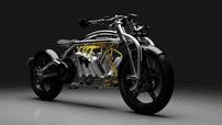 Choáng với siêu mô tô điện Curtiss Zeus trang bị bộ pin V8 cực khủng