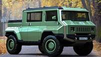 Mẫu xe concept đi off-road của Nga này trông khá giống một chiếc Hummer