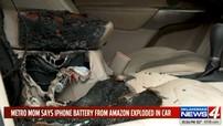Pin iPhone mua qua mạng phát nổ, phá hỏng nội thất của Jeep Cherokee 2019