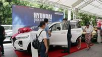 Hội chợ ô tô lớn nhất miền Bắc thu hút hàng nghìn lượt khách tham dự và đăng ký lái thử xe