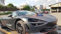 """Đánh giá nhanh McLaren 720S đầu tiên về Việt Nam mới đi đăng kiểm biển số với bộ áo """"Batman"""""""