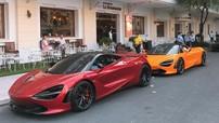 """Siêu xe của Cường """"Đô-la"""" sánh đôi cùng McLaren 720S màu đỏ Memphis của trưởng đoàn Car Passion 2019"""