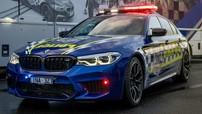 BMW M5 Competition là chiếc xe cảnh sát khiến các tên tội phạm sợ xanh mặt