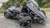 Chiếc xe dơi chế tạo dựa trên Lamborghini độc nhất vô nhị bất ngờ gặp tai nạn thảm thương