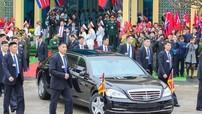 """Đây là cách chiếc Mercedes-Benz S600 từng chở ông Kim Jong Un ở Việt Nam được """"tuồn"""" vào Triều Tiên"""