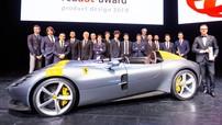Ferrari một lần nữa chứng minh họ là những người thiết kế xe đẹp nhất thế giới ở giải thưởng Red Dot