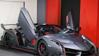 """Đại lý bán Pagani Huayra cho Minh """"Nhựa"""" lại tung ra """"hàng nóng"""" Lamborghini Veneno Roadster"""