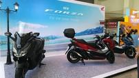 Sau ADV 150, Honda ra mắt mẫu xe ga Honda Forza 300 2019 với ngoại hình hầm hố
