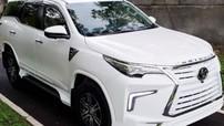 """Toyota Fortuner biến thành """"bạch mã"""" với bộ body kit theo phong cách Lexus LX"""