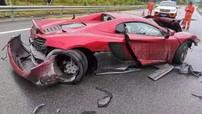 Nam thanh niên đâm hỏng siêu xe McLaren hơn 13 tỷ đồng mượn từ bạn để chạy thử