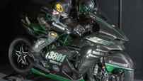 """Diện kiến vua tốc độ Kawasaki Ninja H2 trong dàn áo """"Full Carbon"""" đầy lôi cuốn"""