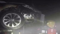 """Thêm một chiếc Model S bốc cháy, Tesla đổ lỗi cho cửa hàng bên thứ ba """"không xử lý chuẩn"""""""