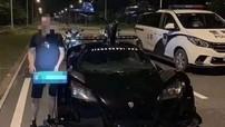 Lái siêu xe Gumpert Apollo không giấy phép lại còn tổ chức đua xe, thiếu gia Trung Quốc bị cảnh sát truy bắt
