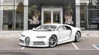 Rapper Post Malone tậu siêu xe Bugatti Chiron trắng từ ngoài vào trong độc nhất vô nhị