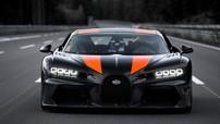 Chứng kiến Bugatti Chiron mới phá kỷ lục tốc độ 483 km/h thần thánh