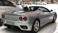 Ferrari 360 Spider tái xuất tại Sài thành với màu sơn bạc gợi nhớ thời chơi siêu xe đình đám ở Việt Nam