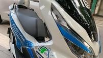 Bắt gặp Honda PCX điện được TTGT sử dụng tại Hà Nội