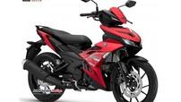 Phải chăng đây là xe côn tay Yamaha Exciter 155 VVA hoàn toàn mới?